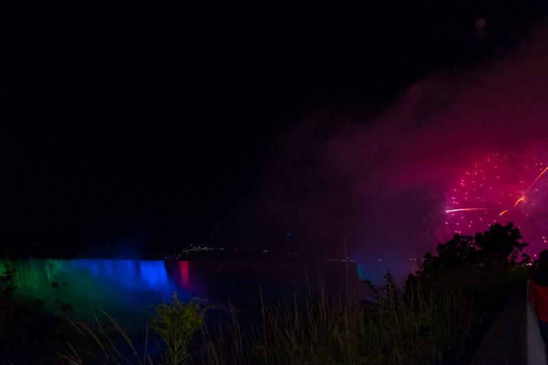 Fuochi artificiali Niagara Falls
