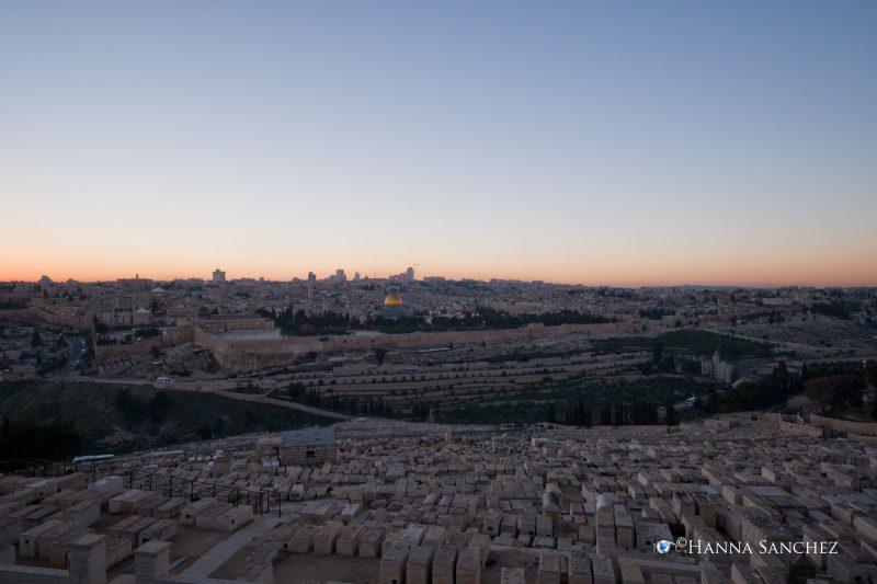 Jerusalem - vista panoramica