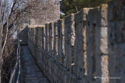 Passeggiando sulle mura di gerusalemme