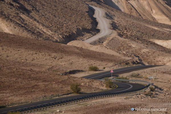 Deserto - strada nera