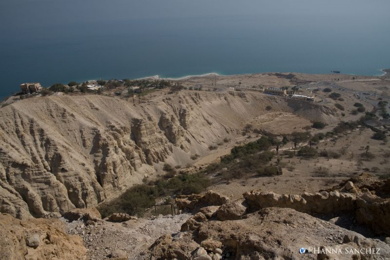 Vista panoramica sul mar Morto