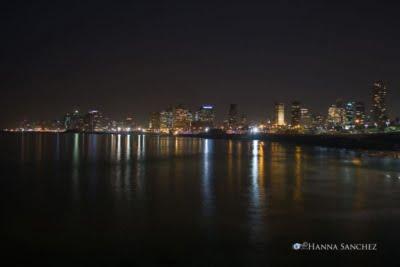 Tel Aviv Panorama notturno