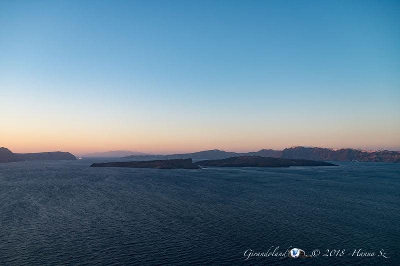 Isole al tramonto