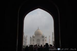 Taj Mahal - Arco d'accesso