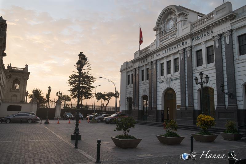 Lima - Casa Literatura Peruana